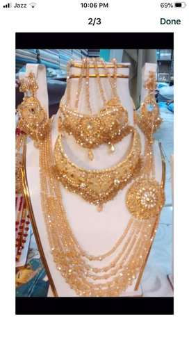 Bridal set new jewlery collection