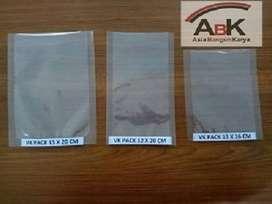 Plastik Vacum uk 12 X 20 CM