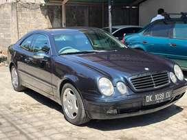 Mercy CLK 230 tahun 1999 coupe rare langka