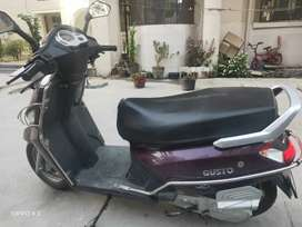 Good Condition Scooty with New Tyre and Battery