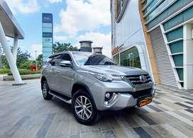 TDP 55 JUTA! Toyota Fortuner 2.4 VRZ 4x2 2017 Good Condition!