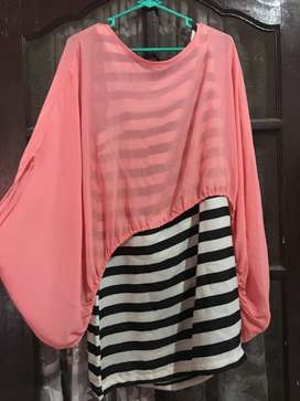 Dress pink zebra