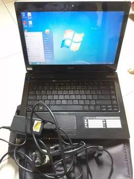 Laptop acer corei7 ram4gb bu