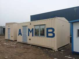 Shower container office  portable cabin prefab steel structure maker