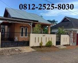 Rumah murah tanah luas 400m di kota bengkulu