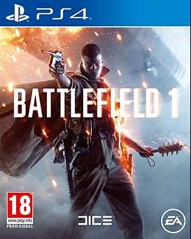 Battlefield 1, and Lost legacy for sale and exchange