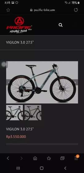 Kredit sepeda virgilion 4.0 bunga bisa 0%