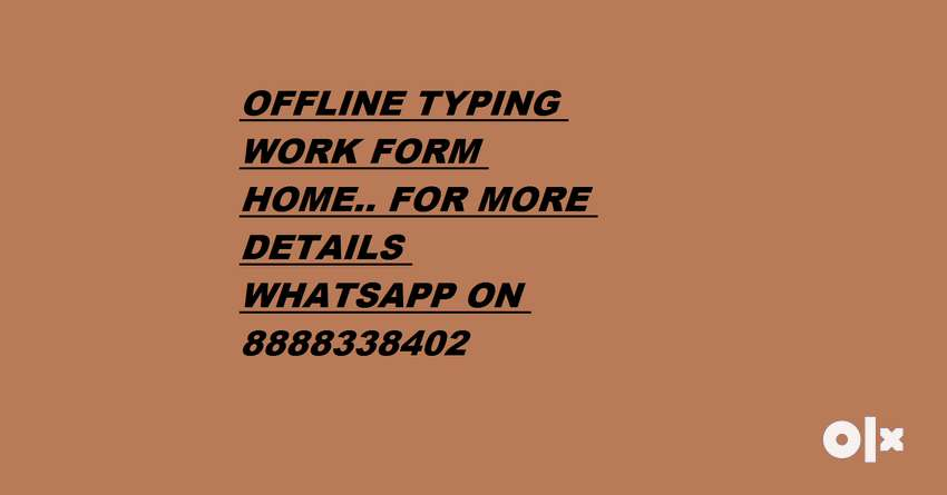 Part Time Jobs Online - Simple Typing 0