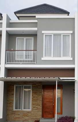 Rumah 2 Lantai Minimalis Modern, Bebas Biaya-biaya