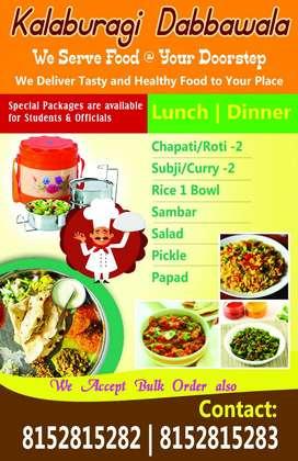 Kalaburagi Dabbawala- we serve food at your door step