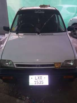 Mehran vxr model 2000 lahore num cng + petrol both working