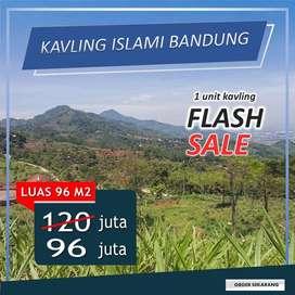 Kavling Harga Flash Sale Sangat Murah di Bandung Selatan warganear