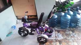 Sepeda Roda 3 Stroller HAOLAIFU