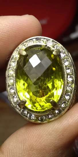 Natural citrine cekerboard HQ natural kecubung kuning HQ
