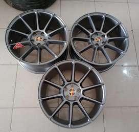Jual velg mercy type drof ring19x85/95 h5x112 et35 full grey