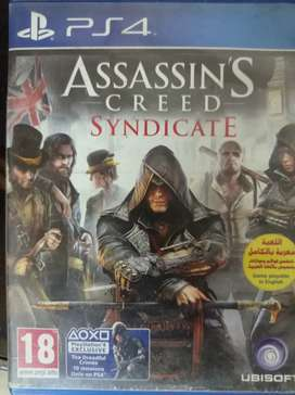 Assasin Creed origins + AC syndicate. Ps4