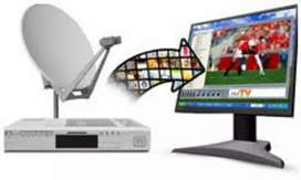 Disc TV Installation and Repairing Professional Operator Only Rs300
