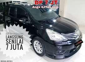 Nissan Grand Livina DP7 Hws AT 2014 DP Murah SEINDONESIA