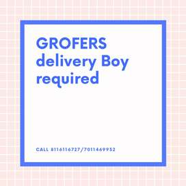GROFERS Delivery boy required