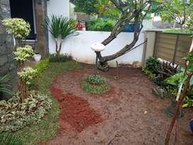 Jasa pembuatan taman rumah-harga permter