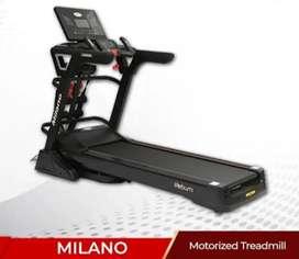 LR fitness Treadmill promo Milano motorized