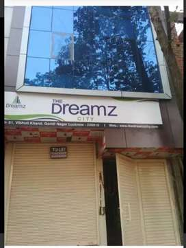 Office space is available on rent @12000/- at vibhuti khand