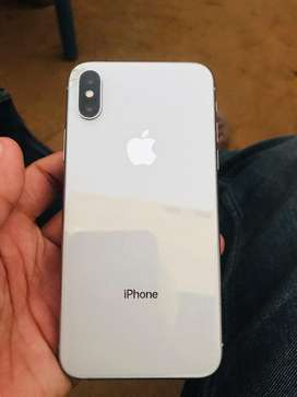 Iphone X(256) B.Health87% Back glass break Urgent Sale