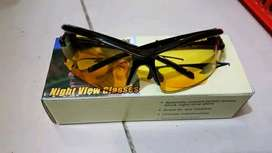 Kacamata Sports Malam Anti Silau Night View Glasses Vision
