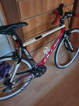 Dijual sepeda road bike blue ac1 full carbon