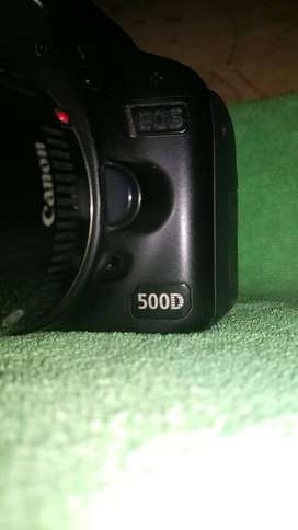 Canon 500D with canon 50mm lens