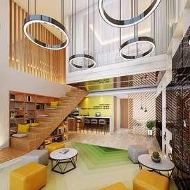 Kantor murah SOHO dua lantai SOHO Pancoran