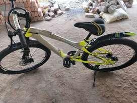 Hero cycle duel disc brake..