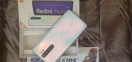Mi note 8prooo.6gb ram 128gb rom...available in best price
