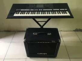 Keyboard yamaha psr s750 dan amply