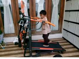 Galaxy health gym _jual Treadmil manual 7fungsi  8003 orange