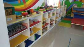 Preschool furnitures , toys and playarea items