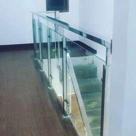 Balkon dan reling Stainles steel kaca#24