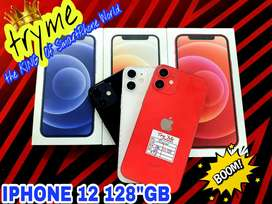TRYME 128GB IPHONE 12 With Warranty All Colours Available Full Kit Box