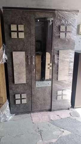 3 Door wardrobe Almari factory outlet add7678