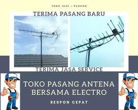 Pusat pemasangan antena tv terpercaya