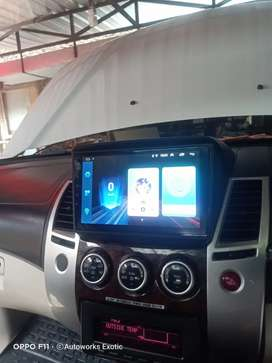 Autoworks exotic car//Head unit android Pajero+frame+mid