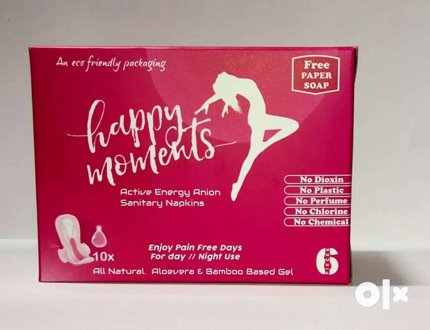Happy moments sanitary pads 0
