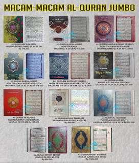Al Quran Ukuran Jumbo/Besar Berbagai penerbit