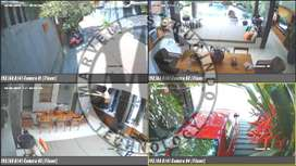 BIG SALE !! CCTV HIKVISION 4Ch . Bebas Pilih Indoor / Outdoor .