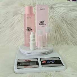 Nacific Pink AHA BHA Toner original Share in bottle /full