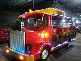 kereta mini wisata free desain odong mobil