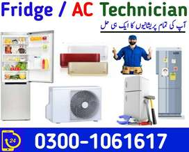 ac and fridge technician team installation and maintenance services