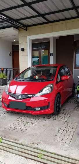 Jazz RS Merah Ferrari Low KM Super Mulus