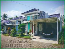 rumah di dalam perumahan setrategis dekat jalan Jogja magelang, artos
