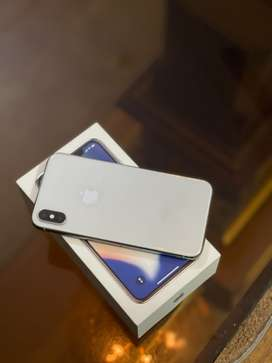 iphone X 64 gb white (PTA approved) Facetime active